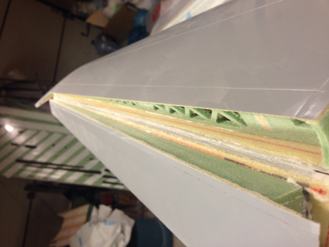 fiberglass composite hinges